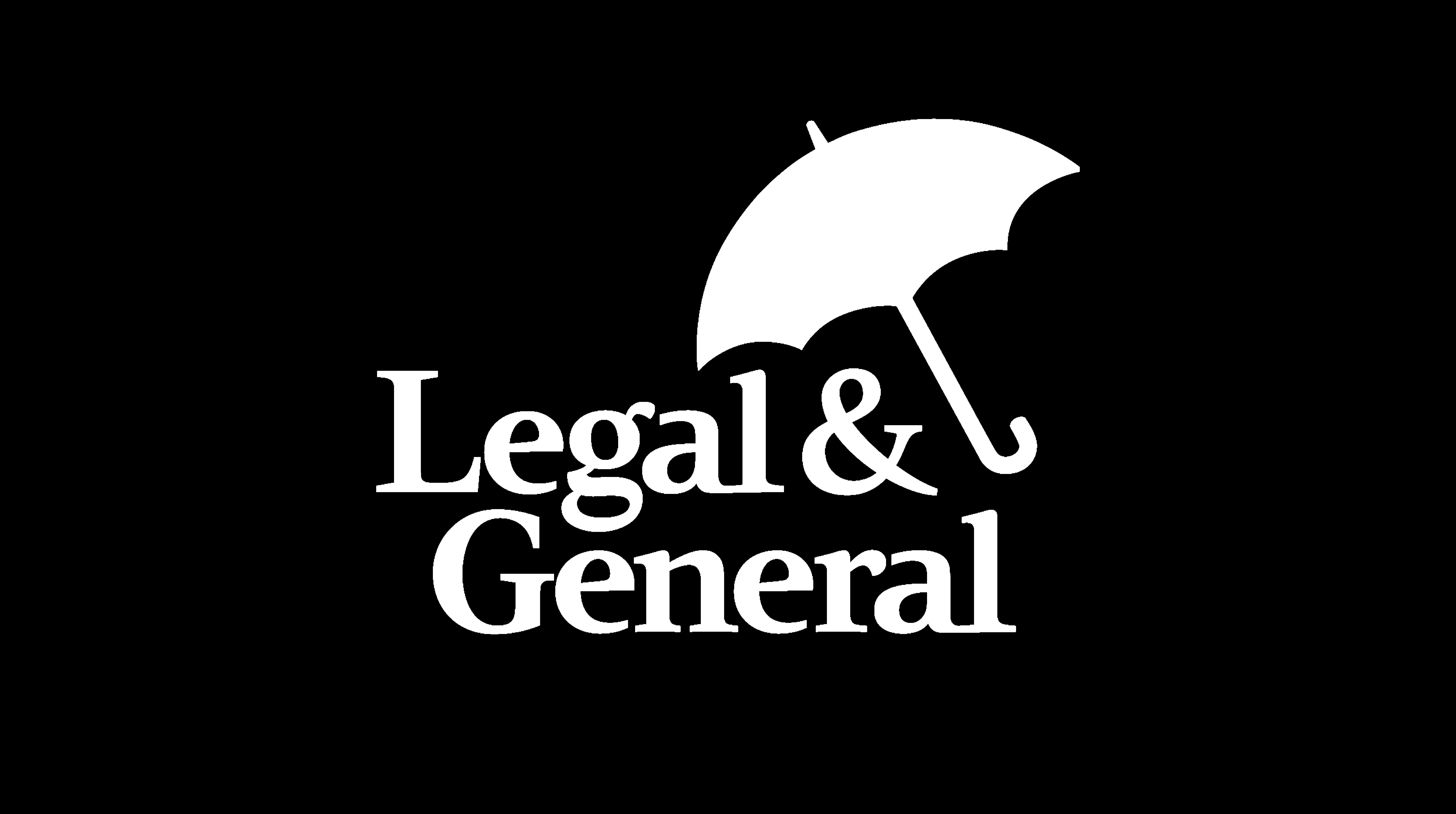 legal & general logo white