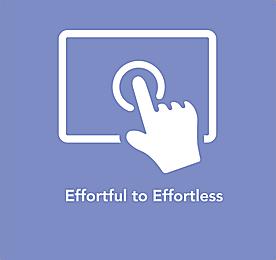Effortful to Effortless